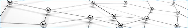 Imagen de una red simbólica en referencia a redes domésticas y de PYME